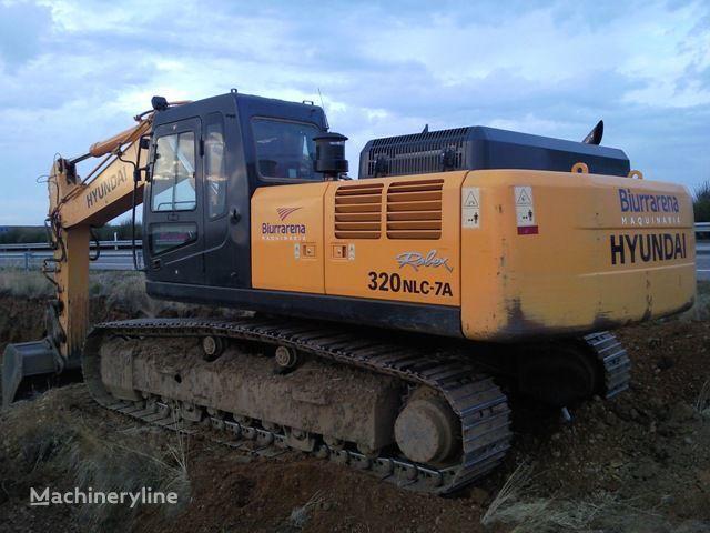 HYUNDAI R320LC7 excavadora de orugas