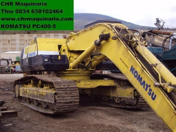 KOMATSU PC400-5 excavadora de orugas