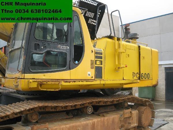 KOMATSU PC600-6 excavadora de orugas