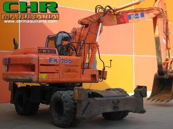 FIAT-HITACHI EX165W.3 excavadora de ruedas