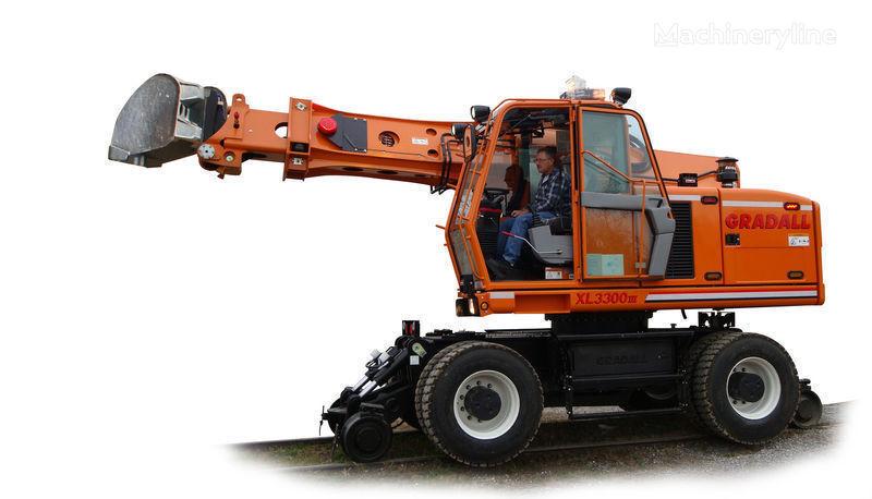 GRADALL XL 3300 excavadora rail nueva
