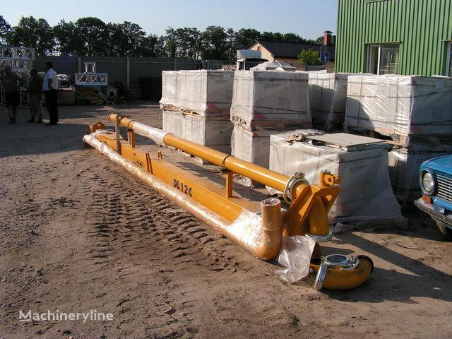 Strela dlya podachi betona (betonorazdatchik). Italiya extendedora de hormigón nueva