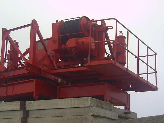 POTAIN pingon GP 4010 con base, opcion cabina grúa torre