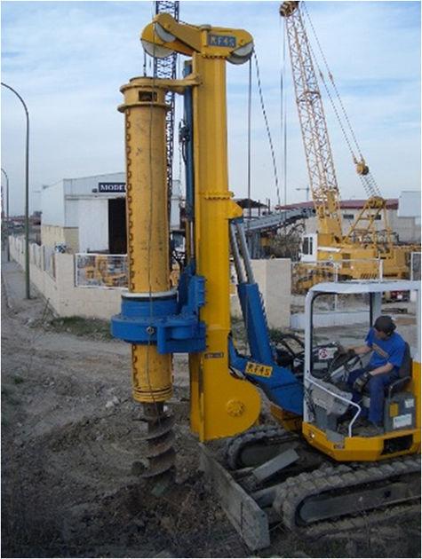 RF4S máquina de perforación