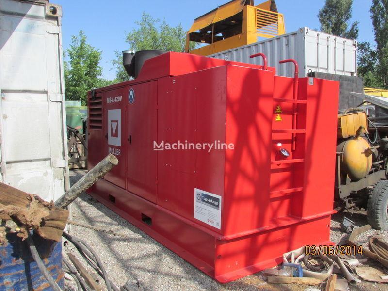 Vibropogruzhatel MÜLLER-24 HFV máquina de perforación nueva