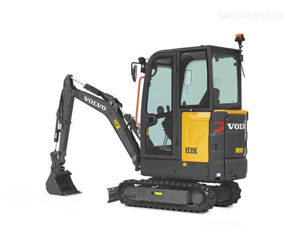 VOLVO EC15D mini excavadora