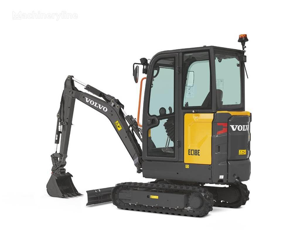 VOLVO EC18D mini excavadora