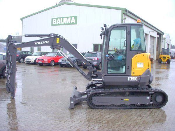 VOLVO ECR50D mini excavadora