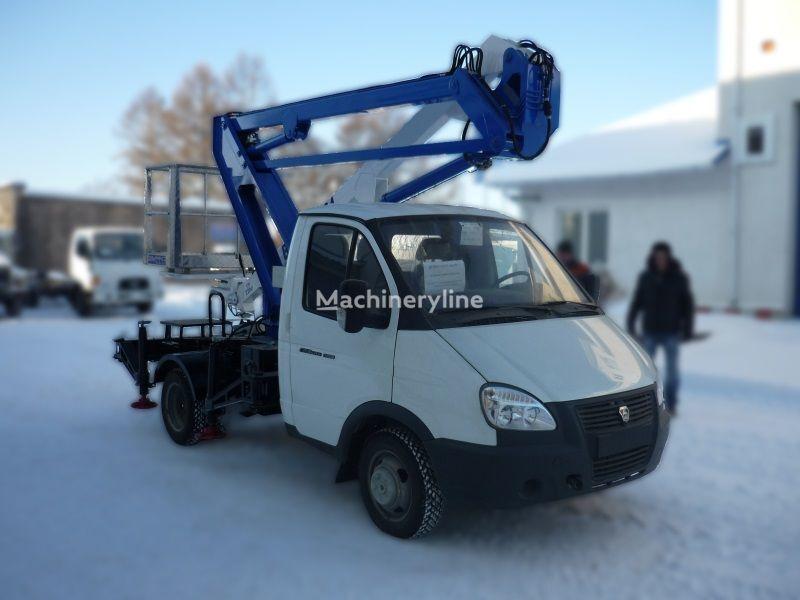 GAZ VIPO-12-01 na bazovom shassi  GAZ-3302 Gazel plataforma sobre camión