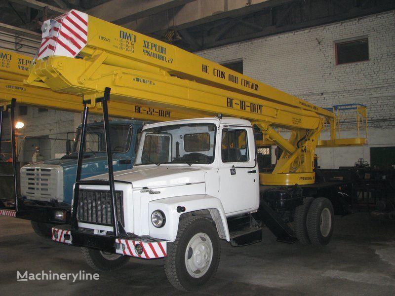 GAZ VS—18-01 RG  plataforma sobre camión