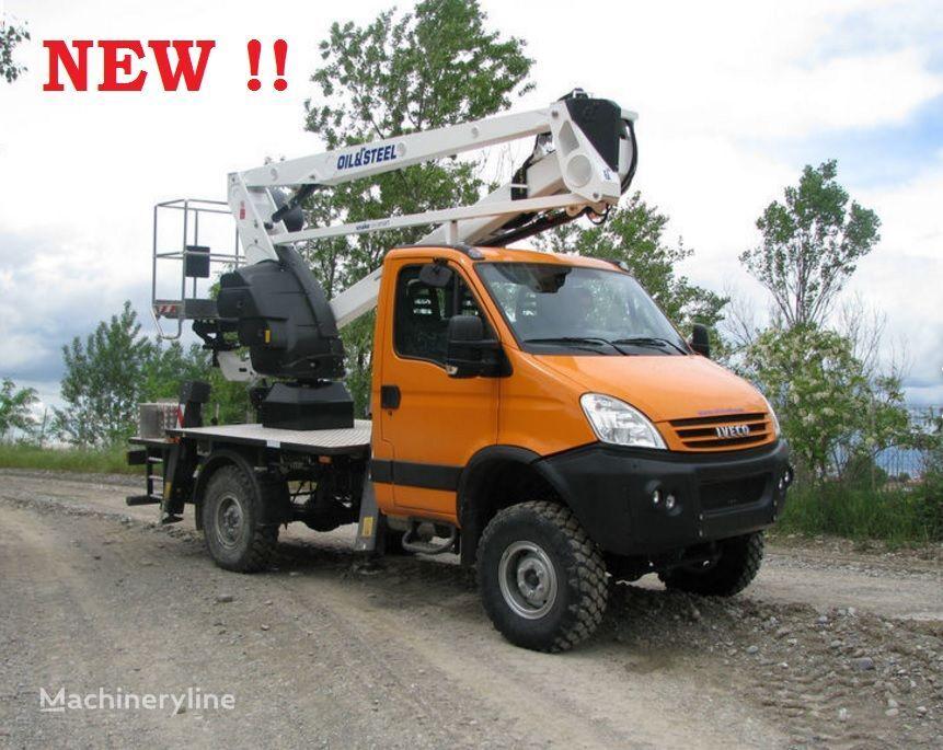 IVECO Daily 4x4 nowy podnośnik koszowy zwyżka 18m plataforma sobre camión nueva