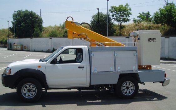 MOVEX plataforma sobre camión nueva