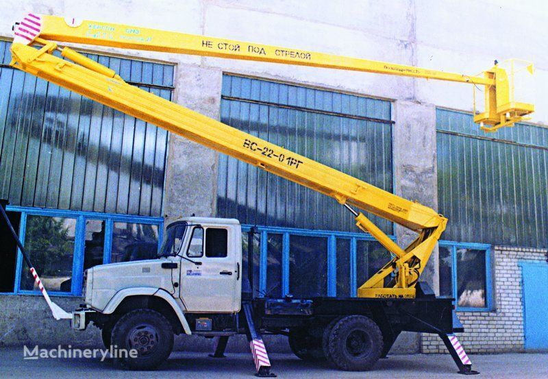 ZIL VS—22-01  plataforma sobre camión