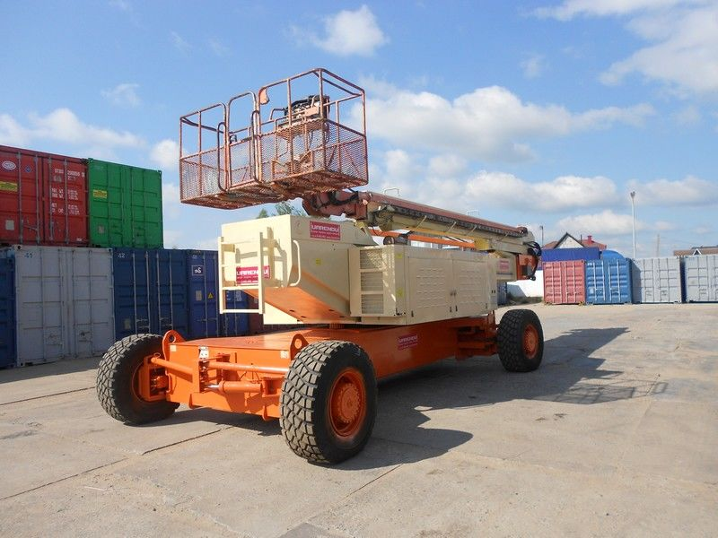 JLG 150HAX, Diesel, 4x4, 47.7m plataforma telescopica