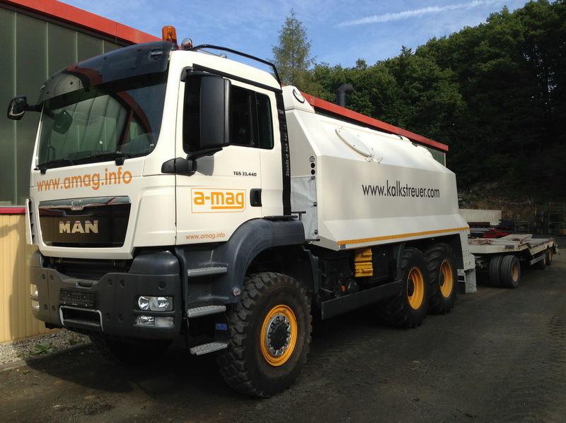 MAN TGS spreader 33.440 - 6x6 recicladora nueva