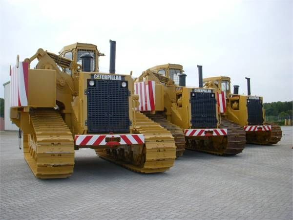 CATERPILLAR 589 pipelayer tiendetubos