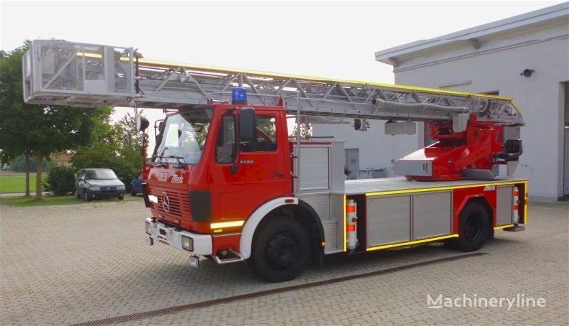 MERCEDES-BENZ F20126-Metz DLK 23-12 - Fire truck - Turntable ladder  autoescala