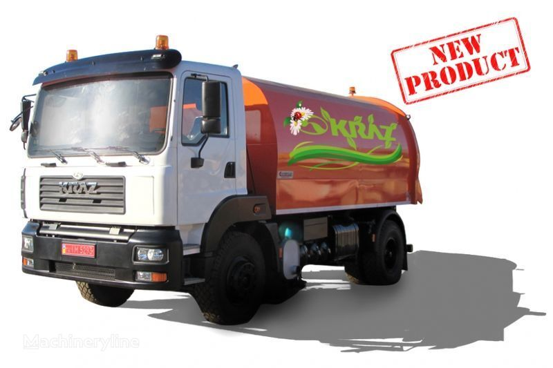 KRAZ 5401K2-020 Vakuumnyy podmetalno-uborochnyy avtomobil  barredora