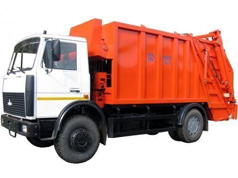 MAZ KO-427-34  camión de basura