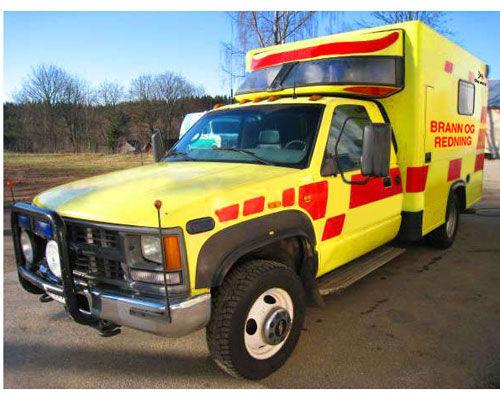 CHEVROLET WD camión de bomberos
