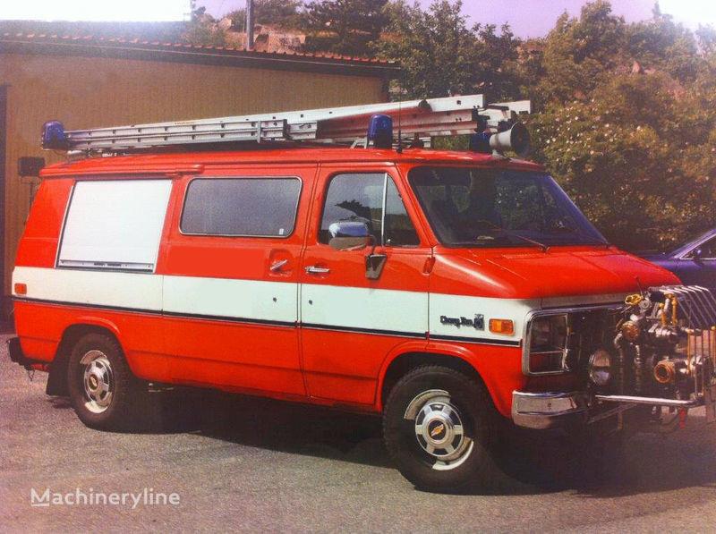 Chevrolet Van G-30 camión de bomberos