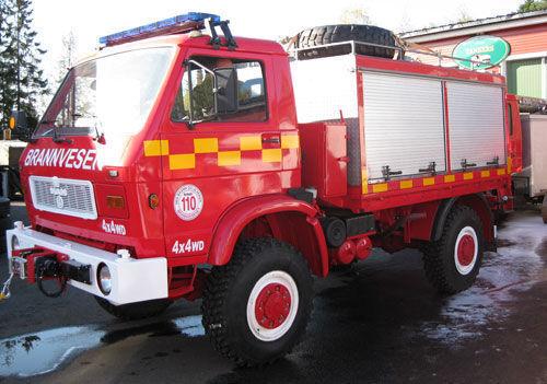 MAN 8.150, 4x4 WD camión de bomberos