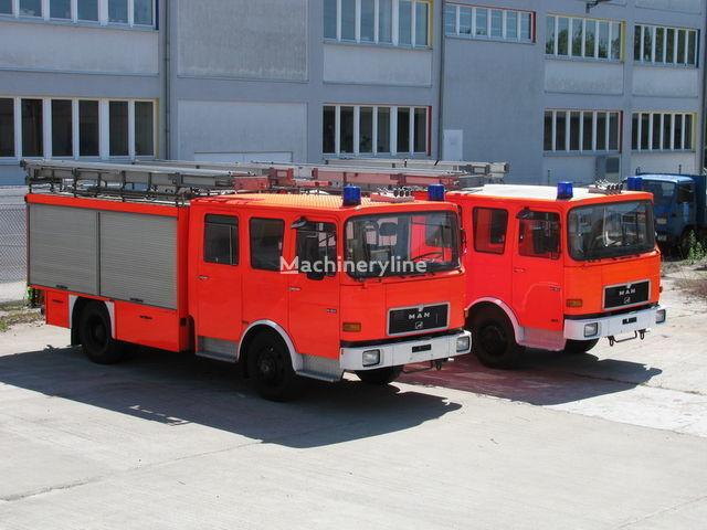 MAN TLF 14.192  1.700 Liter Wassertank 400 L Schaum camión de bomberos