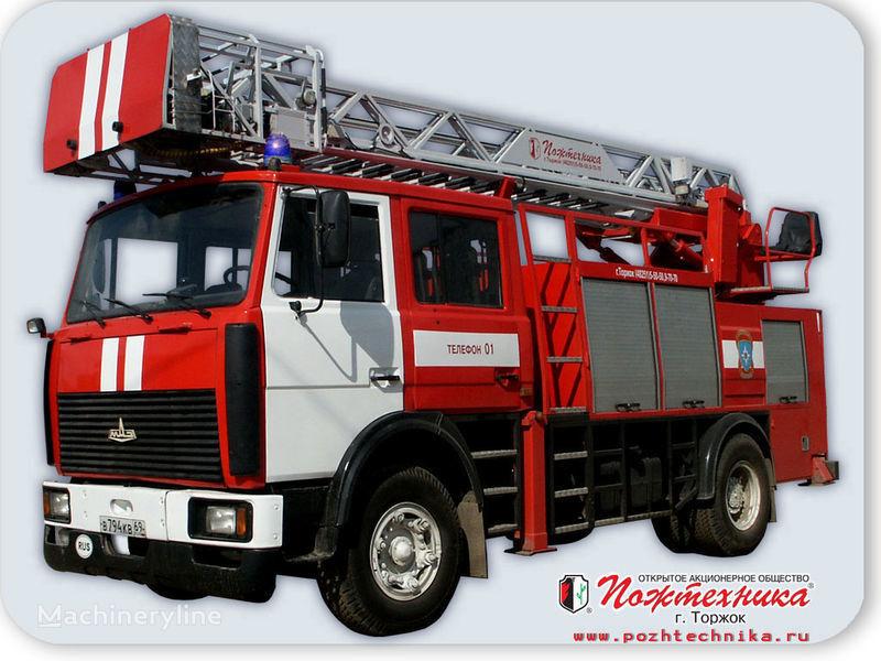 MAZ APS(L)-1,25-0,8 Avtomobil pozharno-spasatelnyy s lestnicey camión de bomberos