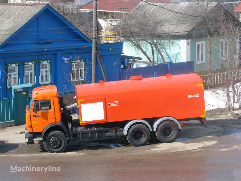 KAMAZ Kanalopromyvochnaya mashina KO-512 camion de desatascos