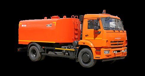 KAMAZ Kanalopromyvochnaya mashina KO-514 camion de desatascos
