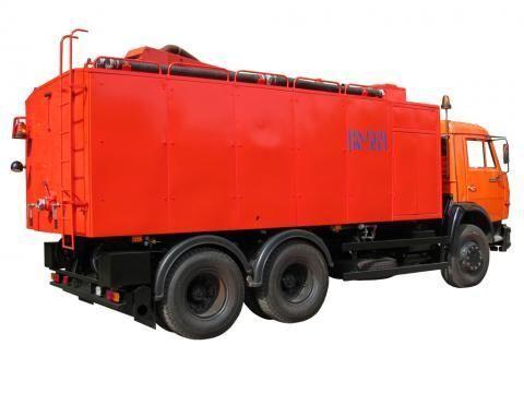 KAMAZ KO-564  camion de desatascos