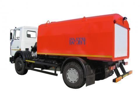 MAZ KO-564-30  camion de desatascos