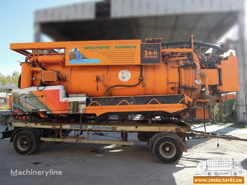 D/MRW/0173-18 camión de vacío