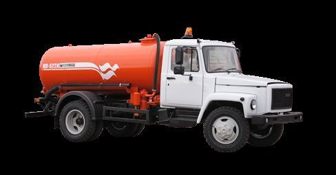 GAZ Vakuumnaya mashina KO-522B camión de vacío