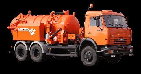 KAMAZ Ilososnaya mashina KO-507A-2 camión de vacío