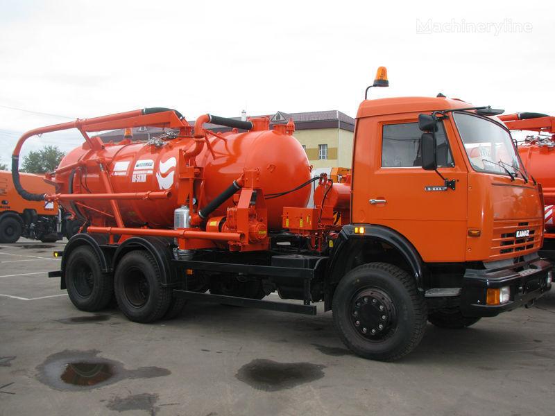 KAMAZ Ilososnaya mashina KO-507A-3 camión de vacío