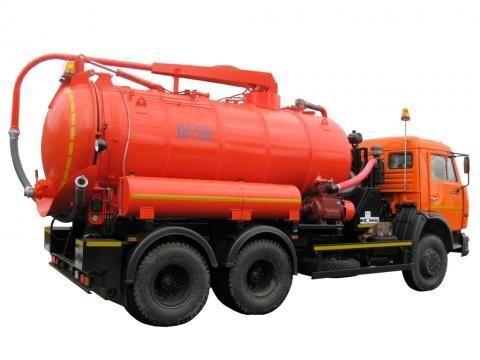 KAMAZ KO-530-01  camión de vacío