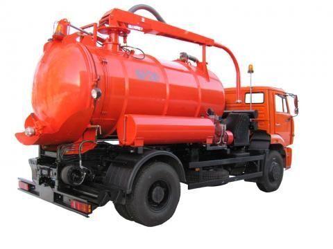 KAMAZ KO-530-25  camión de vacío