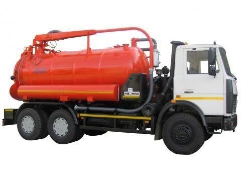MAZ KO-530-05  camión de vacío
