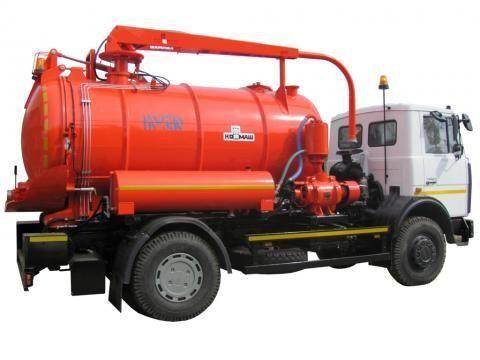 MAZ KO-530-21  camión de vacío