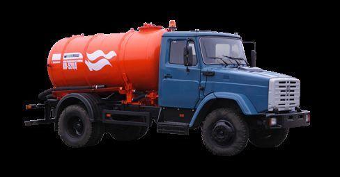 ZIL Vakuumnaya mashina KO-520 camión de vacío