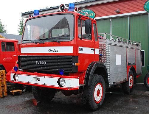 IVECO 4x4 WD coche de bomberos del tanque