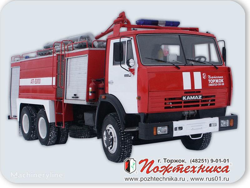 KAMAZ AP-5000 Avtomobil poroshkovogo tusheniya coche de bomberos del tanque