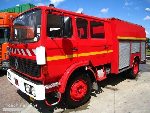 RENAULT G-191 11 PLACE WATER PUMP coche de bomberos del tanque