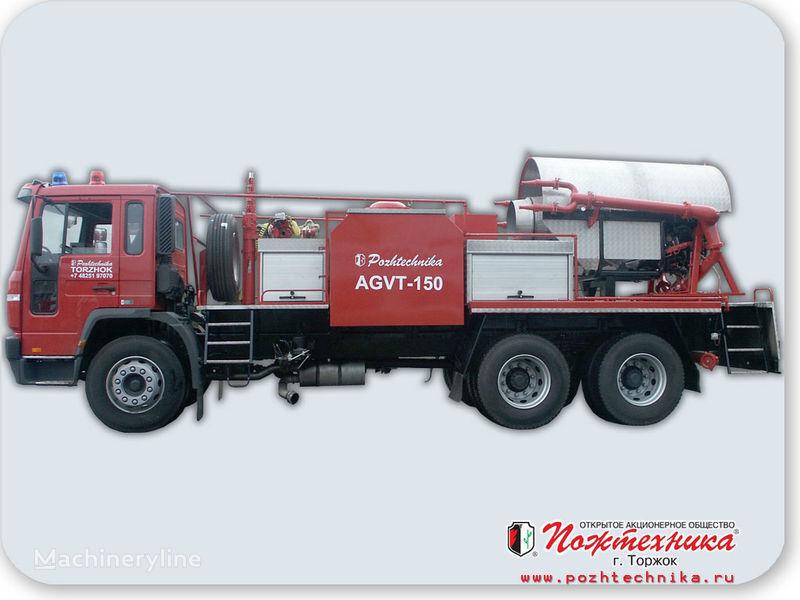 VOLVO AGVT-150 Avtomobil gazovogo tusheniya  coche de bomberos del tanque