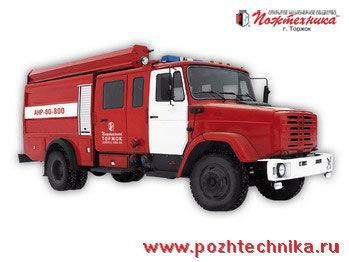 ZIL ANR-60-800 Avtomobil nasosno-rukavnyy  coche de bomberos del tanque