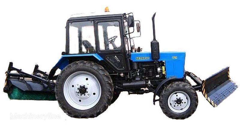 MTZ BAM-2 (otval+shchetka)na traktorah MTZ otra maquinaria municipal