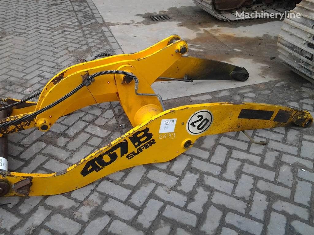 acoplamiento rápido para JCB 407BZX cargadora de ruedas
