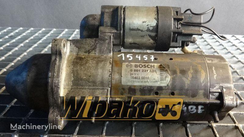 Starter Bosch 0001231026 arrancador para 0001231026 otros maquinaria de construcción