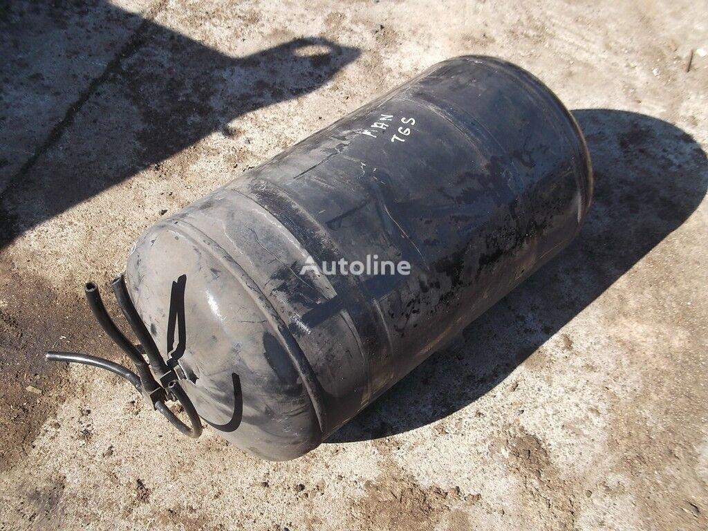 Vozdushnyy ressiver MAN Alyuminievyy. caja de filtro de aire para camión